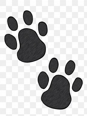 Heart Paw Cliparts - Dog Paw Footprint Clip Art PNG
