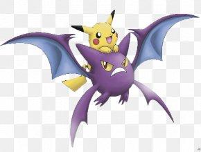 Pokemon - Pokémon Emerald Gengar Crobat Natal PNG