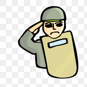 His Shield Soldier - Soldier Clip Art PNG