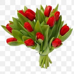 Bouquet Flowers - Tulip Floral Design Cut Flowers Flower Bouquet PNG
