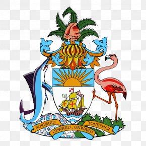Tshirt - Coat Of Arms Of The Bahamas T-shirt Image Vector Graphics PNG