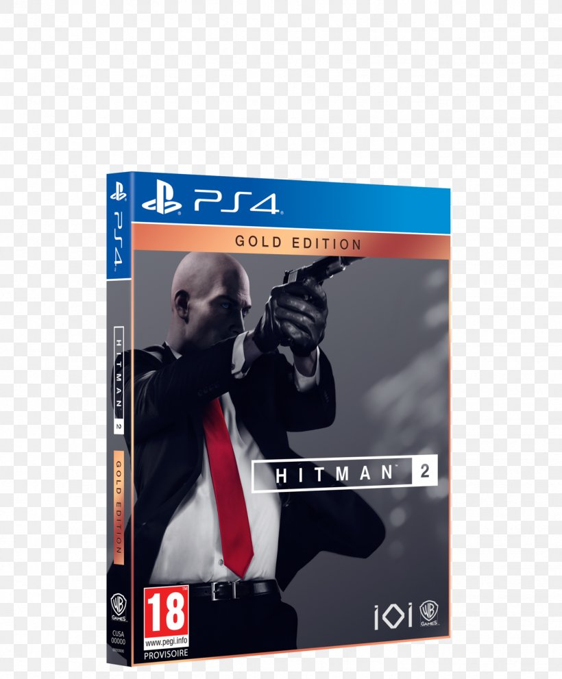 Hitman 2 Agent 47 Video Games Playstation 4 Png