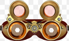 Download Free High Quality Goggles Transparent Images - Steampunk Fashion Goggles Clip Art PNG