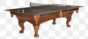 Retro Green Ping-pong Table - Billiard Table Pool Billiards Recreation Room PNG
