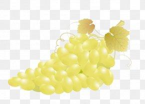 A Bunch Of Grapes - Common Grape Vine Fruit Clip Art PNG