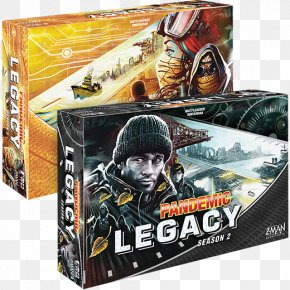 Seventy-one - Pandemic Board Game Z-Man Games Legacy Game PNG