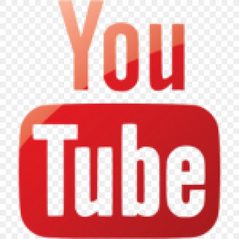 YouTube Logo, PNG, 1024x1024px, Youtube, Area, Black And White, Brand, Logo Download Free