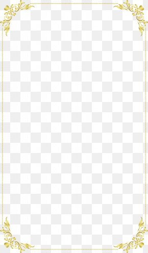 Continental Exquisite Gold Frame PNG