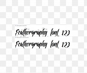 Calligraphy - Calligraphy Font Family Script Typeface Swash Font PNG