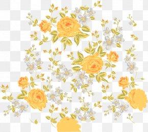 Exquisite Flower Pattern Vector Border Design Free Download - Floral Design Flower PNG