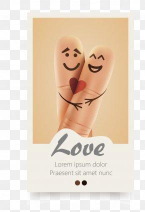 Finger Love - Index Finger Euclidean Vector Love PNG