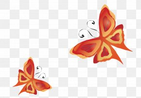 Vector Butterfly - Butterfly Insect Euclidean Vector PNG