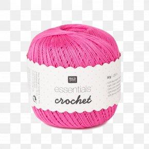 Twine - Crochet Thread Yarn Knitting Doily PNG