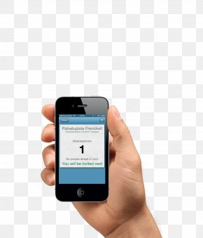 Smartphone In Hand Image - Smartphone Mobile App PNG
