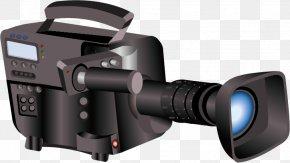Video Camera - Digital SLR Camera Lens Video Camera PNG