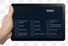 Tablet In Hand Image - IPad Image File Formats PNG