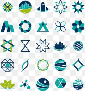 Blue Business Logo Design - Icon Design Logo Clip Art PNG