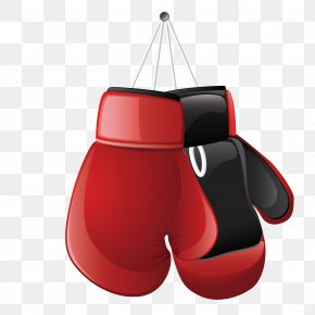 Vector Boxing Gloves - Boxing Glove Clip Art PNG