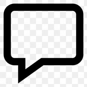 Text Box - Speech Balloon PNG