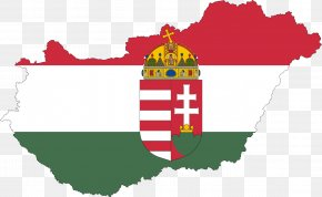Flag - Flag Of Hungary Stock Photography National Flag Vector Map PNG