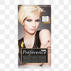 Hair - Hair Coloring Blond LÓreal Human Hair Color Hair Permanents & Straighteners PNG
