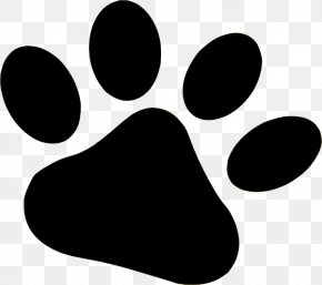 Dog Paw Clipart - Dog Paw Bear Clip Art PNG