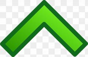 Up Arrow - Green Arrow Clip Art PNG