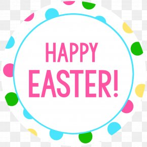 Happy Easter - Easter Bunny Wish Happiness Greeting & Note Cards PNG