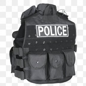 Gilets Zipper Police Military Personal Protective Equipment PNG
