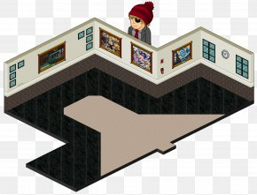 Room Background - Habbo Roof Room Anonymous Floor PNG