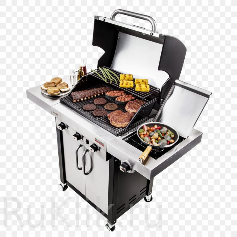 Barbecue Cooking Grilling Char-Broil 3 Burner Gas Grill Oven, PNG, 1024x1024px, Barbecue, Animal Source Foods, Barbecue Grill, Charbroil, Charbroil 3 Burner Gas Grill Download Free