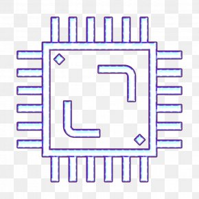 Diagram Technology Icon - Chip Icon Computer Icon Cpu Icon PNG