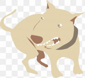 Puppy - Puppy Pit Bull Dog Aggression Clip Art PNG