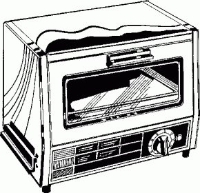 Oven Pictures - Toaster Microwave Oven Clip Art PNG
