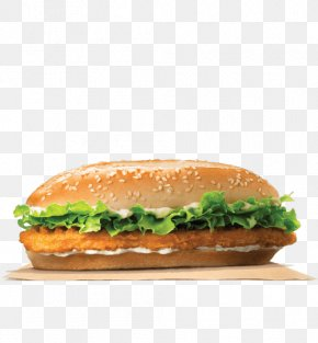 Burger King - Chicken Sandwich Burger King Specialty Sandwiches TenderCrisp Whopper Hamburger PNG