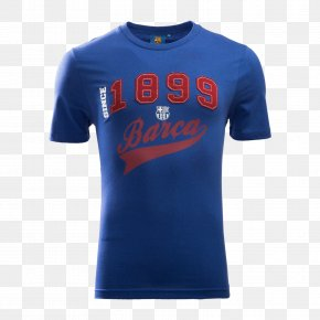 Fc Barcelona - T-shirt Sleeve Clothing Jersey Top PNG