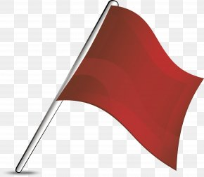 Creative Red Flag Design - Designer Creativity PNG