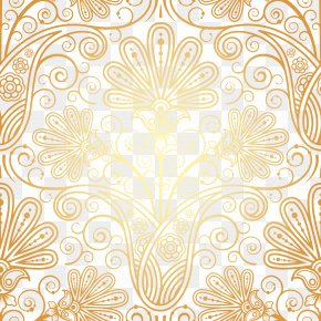 Rich Flowers Background Pattern Vector - Totem Floral Design Designer Pattern PNG