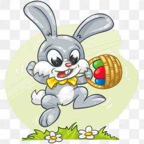 Easter Bunny - Rabbit Easter Bunny Egg Hunt Clip Art PNG