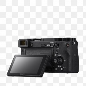 Camera - Sony Alpha 6300 Mirrorless Interchangeable-lens Camera APS-C 索尼 PNG