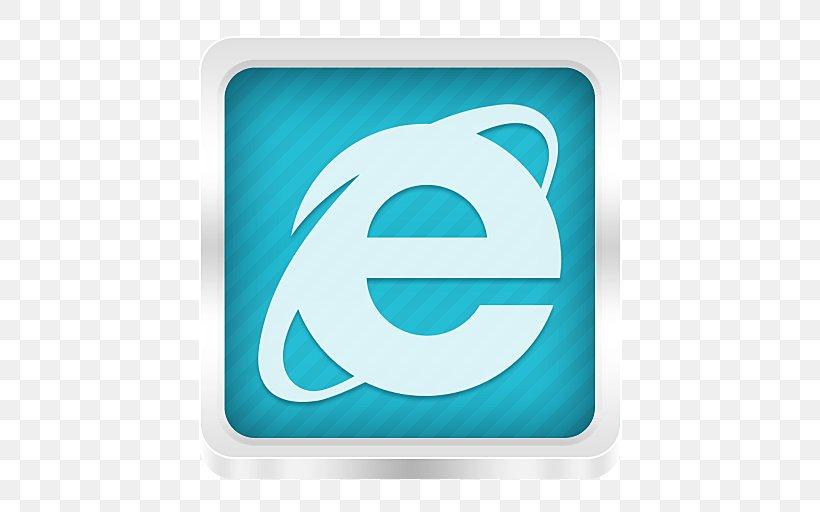 Internet Explorer 10 Web Browser Internet Explorer 11 File Explorer, PNG, 512x512px, Internet Explorer, Aqua, Azure, Blue, Brand Download Free