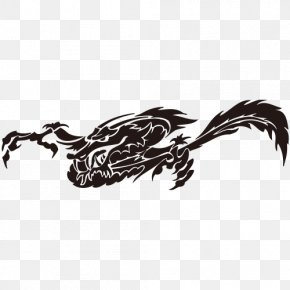 Need Dragon Tattoo - Decal Sticker Dragon Tattoo Clip Art PNG