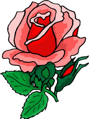 Rose Flower Cliparts - Rose Flower Free Content Clip Art PNG