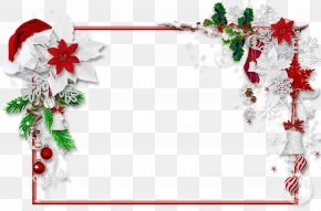Holiday - Santa Claus Christmas Picture Frames Clip Art PNG