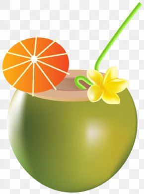 Summer Drinks - Cocktail Clip Art PNG