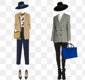 Fashion Suit With - Fashion Icon PNG