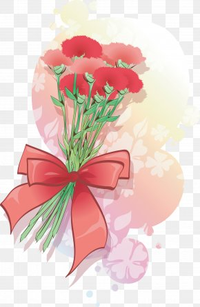 Bouquet - Carnation Flower Clip Art PNG
