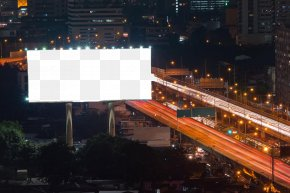Outdoor Billboards Renderings Template - Out-of-home Advertising Billboard Stock Photography PNG
