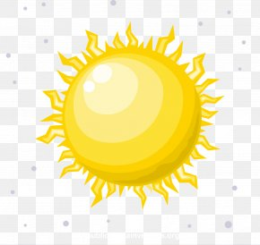 Vector Illustration Shining Sun - Star Sun Clip Art PNG