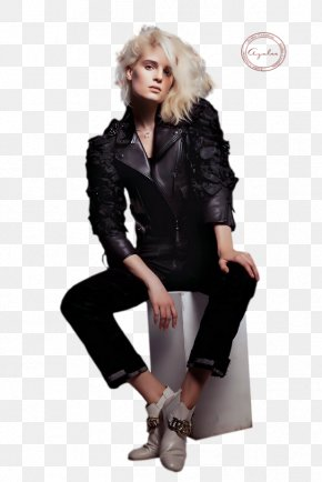 Benatia - Fashion Overcoat Vogue Arabia Magazine Glamour PNG